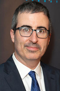 John Oliver at the Garden of Laughs comedy benefit in New York City.
