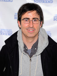 John Oliver at the Off-Broadway Opening Night of
