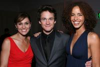Amy Brenneman, Hugh Dancy and Parisa Fitz-Henley at the after party of the premiere of