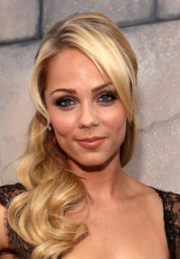 Laura Vandervoort at the Comedy Central's Roast of Charlie Sheen in California.