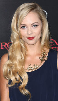 Laura Vandervoort at the California premiere of