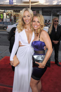 Laura Vandervoort and Jessica Barth at the California premiere of