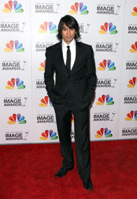 Vik Sahay at the 43rd NAACP Image Awards in California.