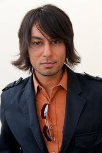 Vik Sahay at the Nathalie Dubois Pre-Emmy Gift Suite in California.