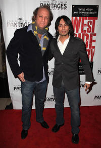 Scott Krinsky and Vik Sahay at the opening night of