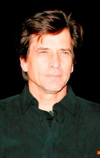 Dirk Benedict at the Celebrity Big Brother Finale.