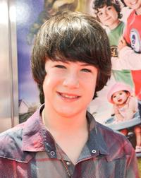 Dylan Minnette at the premiere of