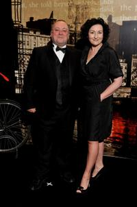 Alex Norton and Blythe Duff at the Specsavers Crime Thriller Awards 2010.