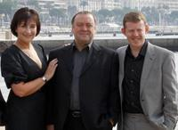 Blythe Duff, Alex Norton and Colin Mc Credie at the photocall of