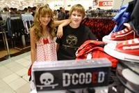 Bella Thorne and Austin Williams at the D CODED Launch Event.