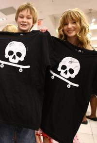 Austin Williams and Bella Thorne at the D CODED Launch Event.