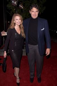 Michael Nouri and Roma Downey at the premiere of