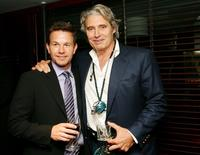 Michael Nouri and Mark Wahlberg at the