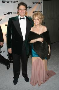 Michael Nouri and Claudia Cohen at the Whitney Gala 2004 at the Whitney Museum.