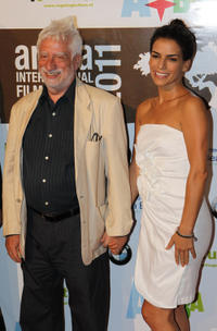 Festival director Claudio Masenza and Daniela Schmidt at the premiere of