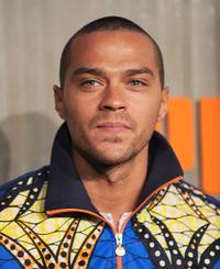 Jesse Williams at the African Bazaar in California.
