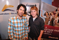 Director Spencer Susser and Devin Brochu at the Australians In  screening of
