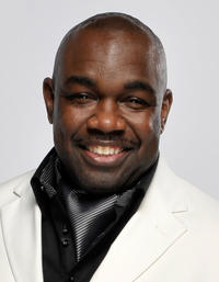 Rodney Perry at the portrait session of the 41st NAACP Image awards in California.