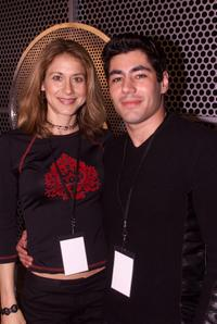 Jessica Lundy and Danny Nucci at the Grammy Week 2001.