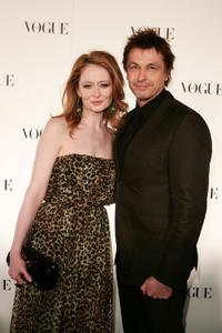 Miranda Otto and Peter O'Brien at the Bulgari 125th Anniversary Event in aid of Save The Children.