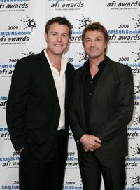 Rodger Corser and Peter O'Brien at the nominations announcement of the 2009 Samsung Mobile AFI Awards.