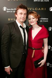 Peter O'Brien and Miranda Otto at the Bulgari 125th Anniversary Event in aid of Save The Children.