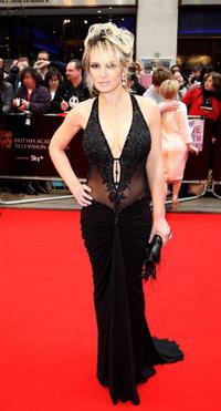 Kierston Wareing at the British Academy Television Awards 2008.