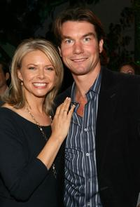 Jerry O'Connell and Faith Ford at the Crest + Scope People's Choice nomination announcement.