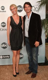 Jerry O'Connell and Rebecca Romijn at the 2007 ABC All Star Party.