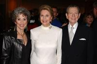 Donald O'Connor, Rita Moreno and Cyd Charisse at the 50th Anniversary screening of
