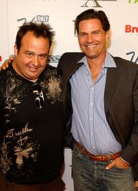 Chris Coppola and D.W. Moffett at the screening of