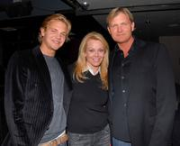 Taylor Handley, Gail O'Grady, Creator and Kevin Williamson at the premiere party of