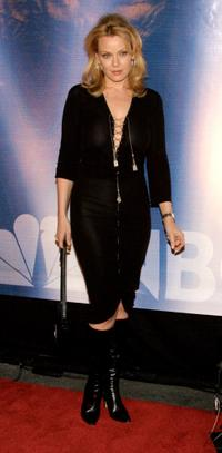Gail O'Grady at the NBC All-Star Party.