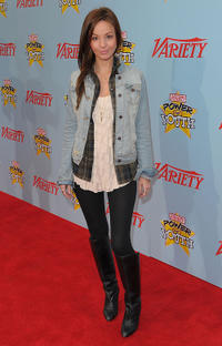 Samantha Droke at the Variety's 3rd Annual Power of Youth Event in California.