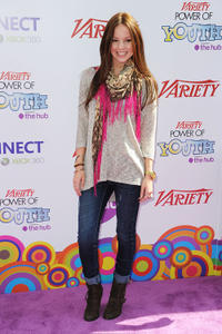 Samantha Droke at the Variety's 4th Annual Power Of Youth Event in California.