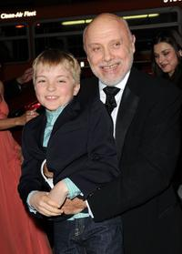 Bryce Robinson and Hector Elizondo at the premiere of