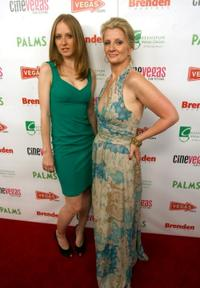 Pepper Binkley and Judith Hawking at the red carpet of