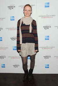 Pepper Binkley at the New York premiere of
