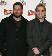 Brookstreet Pictures founders Jon Knautz and Trevor Matthews at the premiere of