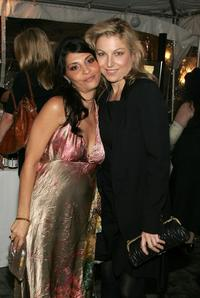 Tatum O'Neal and Callie Thorne at the after party for the premiere of