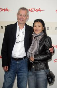 Sergei Bodrov and Khulan Chuluun at the photocall of