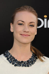 Yvonne Strahovski at the California premiere of