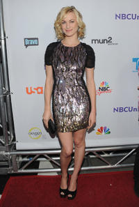 Yvonne Strahovski at the NBC Universal TCA 2011 Press Tour All-Star party in California.