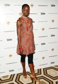 Danai Gurira at the screening of