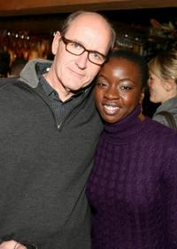 Richard Jenkins and Danai Gurira at the dinner for