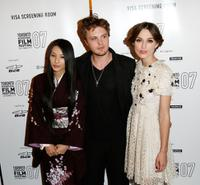 Sei Ashina, Michael Pitt and Keira Knightley at the premiere screening of