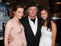 Ayelet Zurer, Rade Sherbedgia and Nina Dobrev at the premiere of