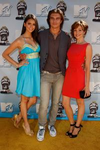 Nina Dobrev, Rob Mayes and Autumn Reeser at the 17th annual MTV Movie Awards.