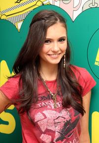 Nina Dobrev at the MTV's Total Request Live.