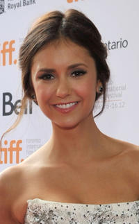 Nina Dobrev at the premiere of